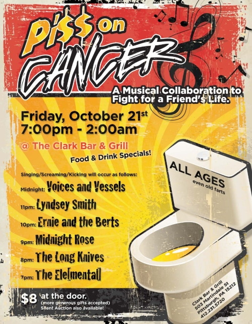 P!$$ ON CANCER - Fri. Nov. 21st, 2011
