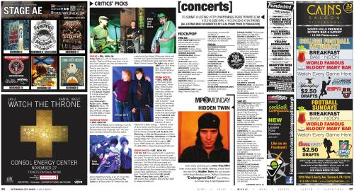 Pittsburgh City Paper - 11/02/2011