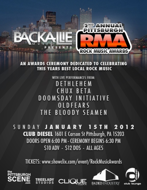 Backallie Music 2nd Annual Rock Music Awards!