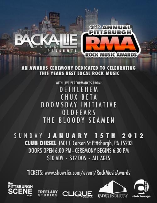Backallie Music 2nd Annual Rock Music Awards!